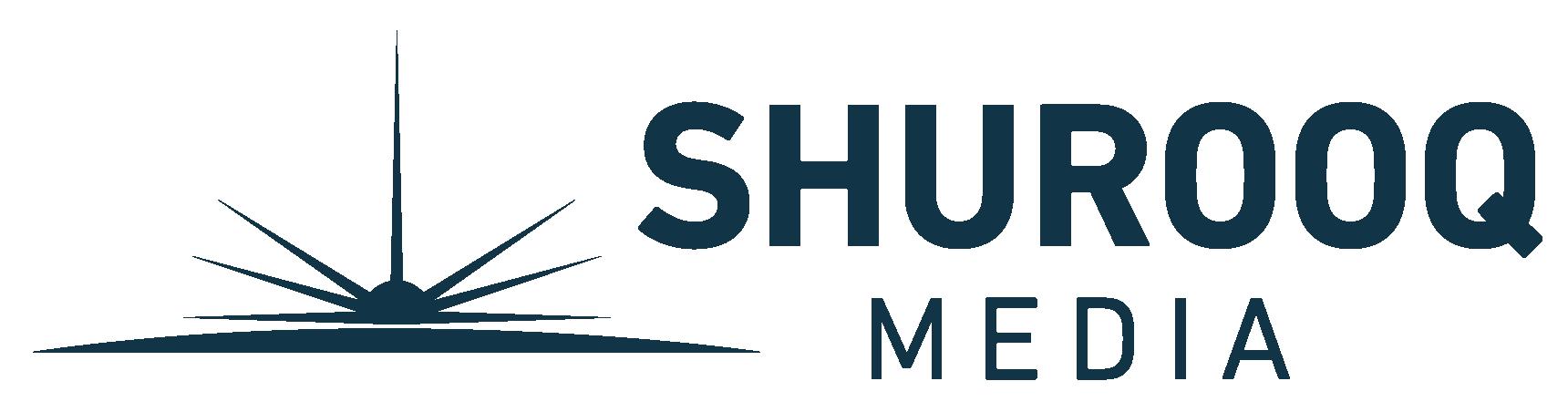 Shurook media logo dark